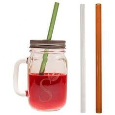 Simply Straws Mason Jar Gift Set