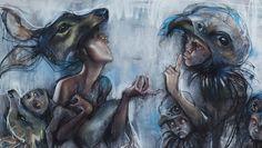 Street art: překrásné malby od dua Herakut