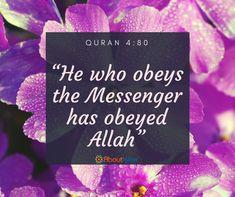 Obey Prophet Muhammad (PBUH)