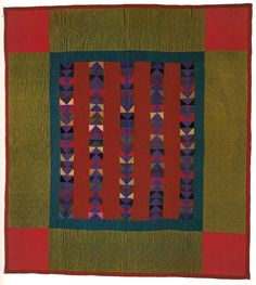 Amish Quilts of Lancaster County by Anonymous Agent Amische Quilts, Sampler Quilts, Antique Quilts, Vintage Quilts, Amish Quilt Patterns, Flying Geese Quilt, Vintage Sewing Machines, Traditional Quilts, Textiles
