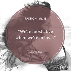 What (or who!) makes you come alive? #passion