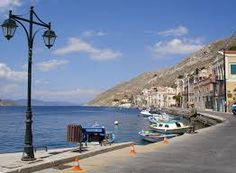 road at Symi -Greece