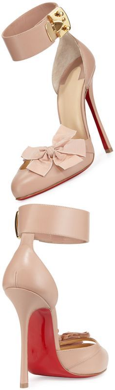 CHRISTIAN LOUBOUTIN on Pinterest | Christian Louboutin Shoes, Red ...