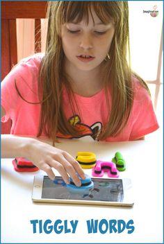 Impressive Beginning Reader Apps & Interactive Toys: Tiggly Words!