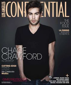 Chace Crawford. I can't even describe how much i love this man. I would like to pin all of his picts. Or... i'll just pin him in my room ;-)
