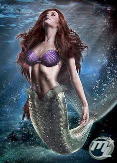 Mermaid by Maryneim.deviantart.com on @deviantART