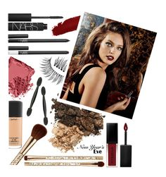 """Glamorous New Year"" by dianasimonson ❤ liked on Polyvore featuring beauty, NARS Cosmetics, Trish McEvoy, Muuto, Smashbox, MAC Cosmetics, Sephora Collection and Bobbi Brown Cosmetics"