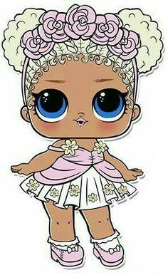 Lol Doll Coloring Pages Elegant Flower Child Series 3 L O L Surprise Doll Coloring Page. Decoration Communion, Lol Doll Cake, Doll Drawing, Doll Party, Lol Dolls, Coloring Pages For Kids, Paper Dolls, Baby Dolls, Clip Art