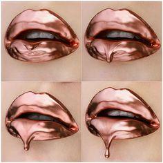 Vlada Haggerty - copper lips