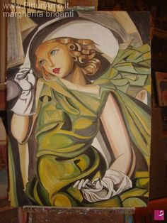 omaggio a Tamara de Lempicka di Megcreative