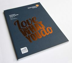 West Herts College – FT 13/14 Prospectus – The graphic design portfolio of Tom Nurse