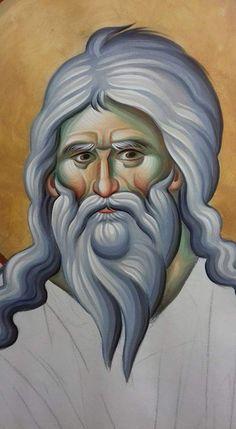 Αγιο Byzantine Art, Byzantine Icons, Orthodox Icons, Vignettes, Fresco, Drawings, Sacred Art, Fresh, Sketches