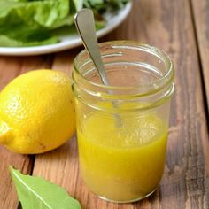 This citrus vinaigrette is the perfect homemade salad dressing. It takes just a few minutes to make!