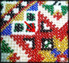 De fleste bringeklutene blir i dag sydd på stramei. For at Hardanger Embroidery, Norway, Pattern, Beading, Buddha, Needlepoint, Beads, Patterns, Pearls