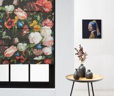 Van bijna al onze gordijnstoffen kun je een vouwgordijn op maat laten maken! #kwantum #vouwgordijn #gordijnstof #bloemen #raamdecoratie #raaminspiratie