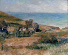 Pierre-Auguste Renoir: View of the Seacoast near Wargemont in Normandy, 1880