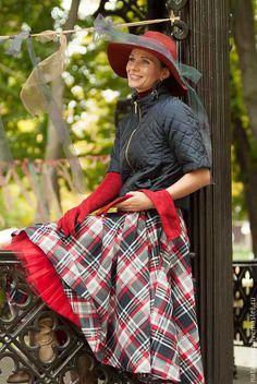 Wool skirt / Юбки ручной работы. Ярмарка Мастеров - ручная работа. Купить Юбка. 001.. Handmade. Комбинированный, юбка миди, юбка двойная