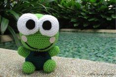 лягушонок кероппи схема вязания игрушки амигуруми