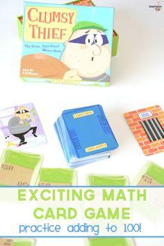 we love this fun math game! Clumsy Thief