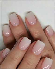 40 Lovely Nail Art Designs 2019 Must Try Explore Your Creative And Elegant Side Square Nails Engagment Nails With a small amount of the fine gold glitter on the nail polish brush, lightly paint two thirds of the top part of the nail Picture Credit Cute Nails, Pretty Nails, Romantic Nails, Nail Pictures, Neutral Nails, Sns Nails Colors, Dip Nail Colors, Spring Nail Colors, Dipped Nails
