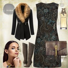 Winter possess by nadia-barbova on Polyvore featuring moda, Warehouse and Report