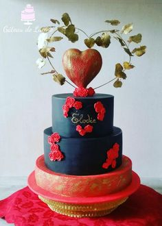Heart for love friendship and family! by Gâteau de Luciné