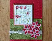 Stampin Up handmade Christmas card - season of Joy