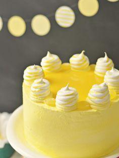 Lemon Meringue Delight Cake