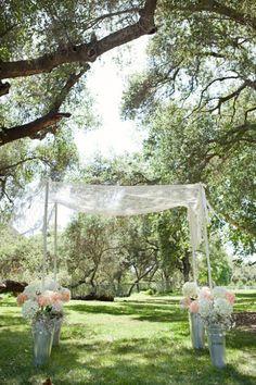 Rustic Style Wedding Arbor