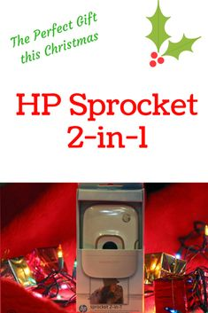 HP Sprocket 2-in-1 P