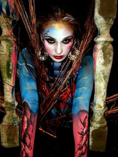 Venezuela body art photos Venezuela Expo Tattoo 2015: Extreme body art from Vampire
