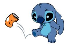 Stitch Stickers by The Walt Disney Company Ltd ( Japan). Stitch (also known as Experiment is a fictional character in the Lilo & Stitch. Lilo En Stitch, Lilo And Stitch Quotes, Disney Stitch, Disney Drawings, Cute Drawings, Stitch Drawing, Film Anime, Cute Stitch, Little Stitch