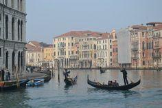 Venice from the Rialto Bridge Rialto Bridge, Boat, Adventure, Venice Italy, Dinghy, Boats, Adventure Movies, Adventure Books, Ship