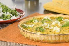 """750g vous propose la recette """"Tarte courgettes et chèvre frais à la Moutarde"""" notée 4.1/5 par 59 votants."""