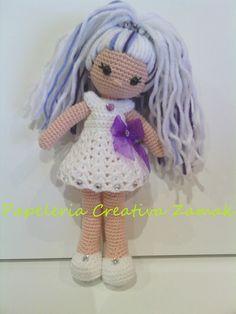 amigurumi coleccion nube muñeca coleccion nube ♡ lovely doll