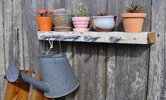 outdoor garden shelve displays | Hanging Racks