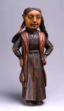 Haida Female Figureca 1830/Haida/Queen Charlotte Islands, British Columbia Fenimore Art Museum