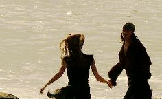 Her running back to him was one of the most adorable things ever. (gif)