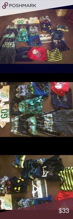1 week only 27 pc boys lot size 6 / 7 1 week only (Friday all closet items are heading to a consignment store) huge lot of boys 6 / 7 clothes includes osh kosh brand, jumping bean brand, tony hawk brand, quicksilver and Shawn white brand plus many more...Includes 6 pairs of shorts, 1 flannel, 2 superhero hoodies, 2 athletic shirts, 12 shirts, 2 tank tops, and 2 sweater type tops. All in good used condition. Quiksilver Other