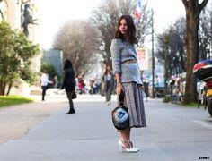 Streetstyle Post: PFW- 8 Looks to Love : Natasha Goldenberg on #ATPB goo.gl/oo6RZZ