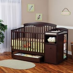 The Classic Shelby Crib And Changer Is Designed To Convert Easily Into A  Toddler Bed With Night Stand As Your Baby Grows Older.