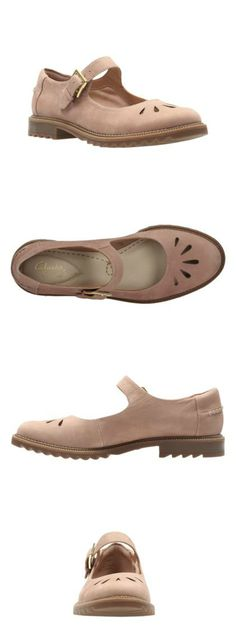 Clarks Griffin Marni in Dusty Pink