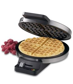 Wish List-Worthy Cooking Tools: Waffle Maker. Waffles for breakfast don't have to be buttery and rich. Try healthy version like sweet potato waffles topped with coconut whipped cream, fresh fruit, or (Baking Tools Must Have) Waffle Maker Reviews, Best Waffle Maker, Belgian Waffle Maker, Belgian Waffles, Cuisinart Waffle Maker, Small Appliances, Kitchen Appliances, Cooking Appliances, Waffle Iron