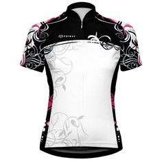 THIS is what I want to wear when I get back on the bike.     Primal Wear Cozmo Women's cycling Jersey $66.95 Women's Cycling Jersey, Cycling Wear, Cycling Jerseys, Cycling Outfit, Road Cycling, Cycling Clothing, Primal Wear, Bicycle Store, Bold Logo