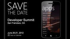Microsoft redondea el mes de junio anunciando su Developer Summit de Windows Phone  http://www.genbeta.com/p/68868