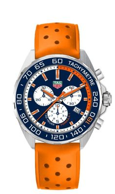 Primeur! TAG Heuer eert Max Verstappen met een eigen horloge!