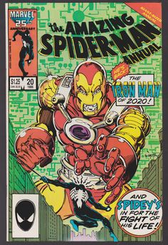 1986 Marvel Comics THE AMAZING SPIDER-MAN #20 Giant Sized Annual