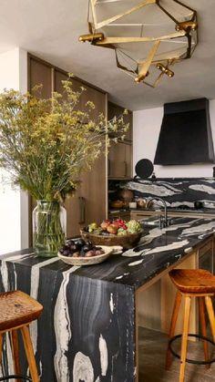 Home Staging, Home Interior, Interior Design Kitchen, Design Studio, House Design, Vincenzo De Cotiis, Parisienne Chic, Vintage Stool, Walnut Dining Table