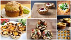 12 Unexpected Muffin Tin Recipes- I must try these! I'm looking for things to send in my husband's lunch, sandwiches are getting old. These look delicious!