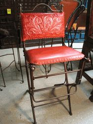 LOVE these bar stools!! found at www.saddleblanket.com